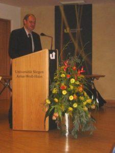 Ministerialrat Burkhard Reith